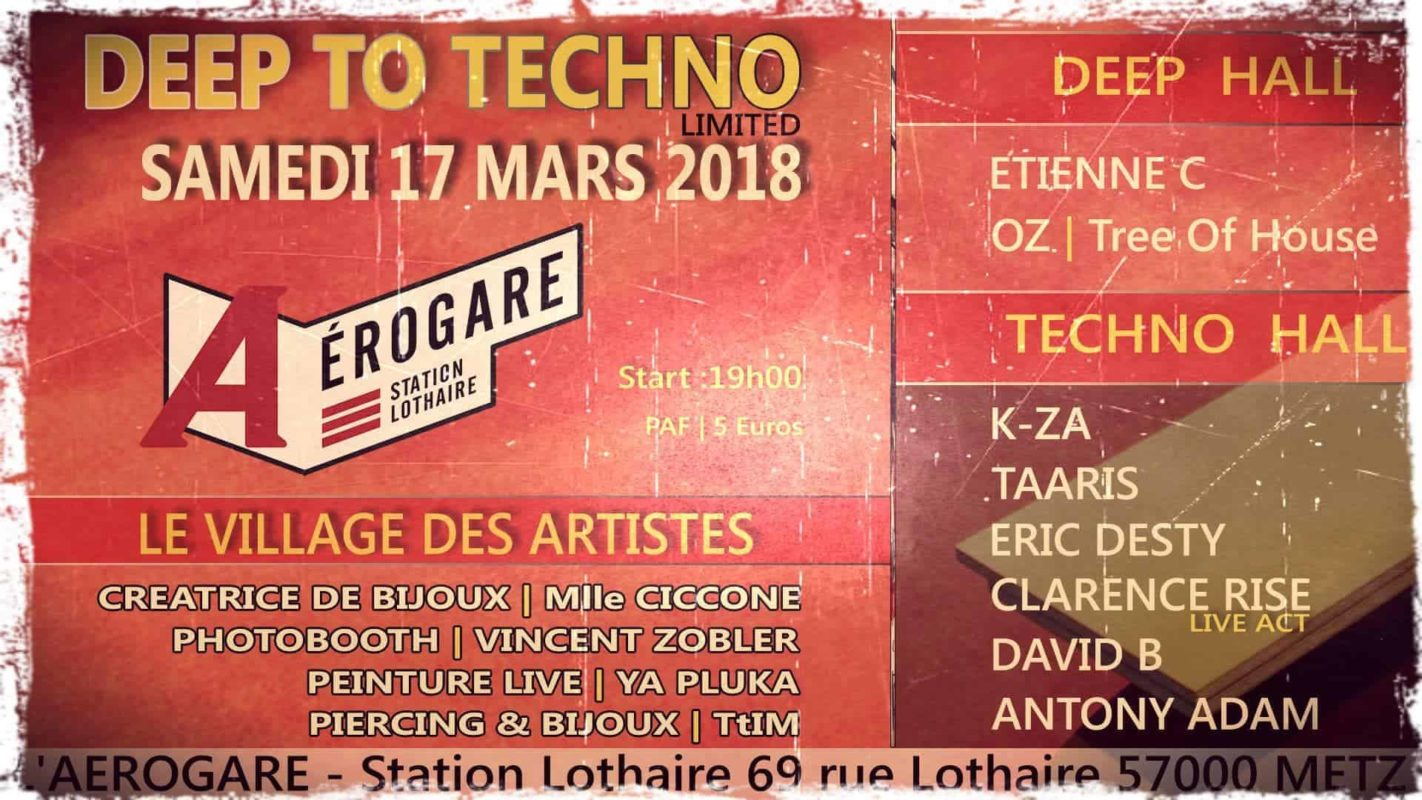 Deep To Techno - Limited